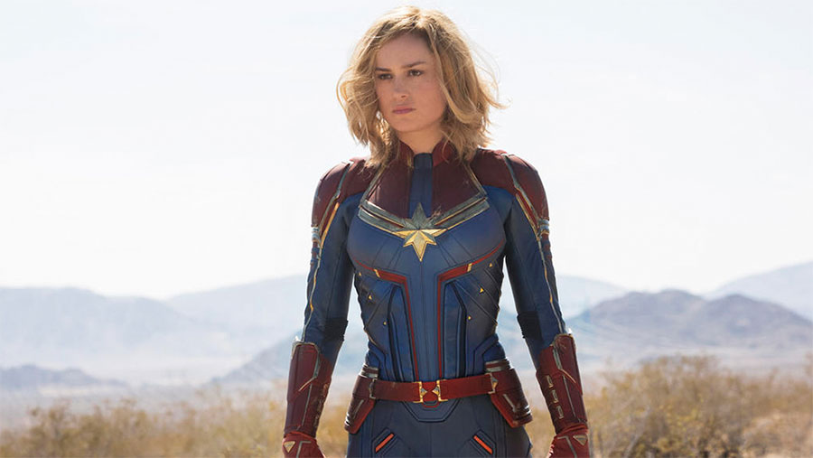 'Captain Marvel' soars with new trailer