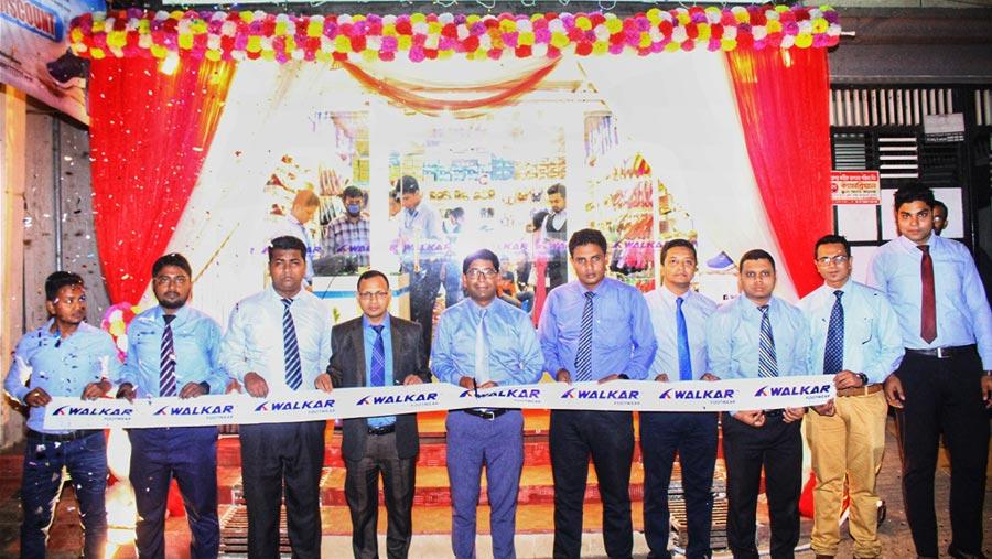 'Walkar' footwear opens outlet in Mohammadpur