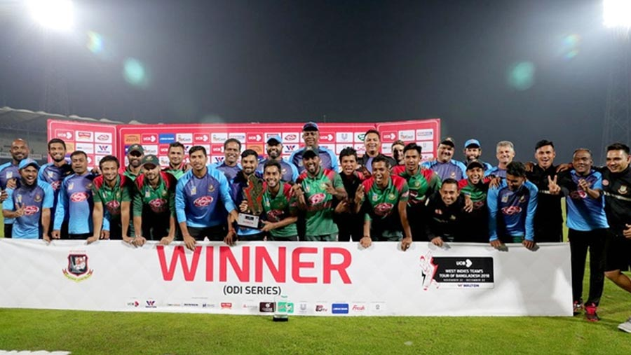 Tigers clinch yet another ODI series