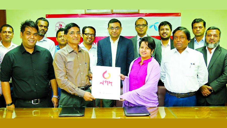 GP, Nagad sign MoU