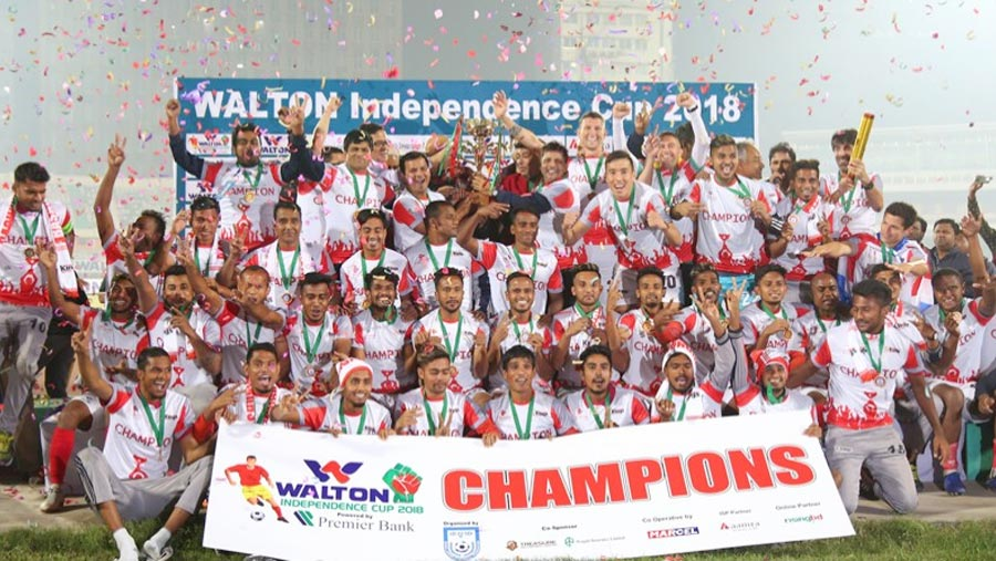 Bashundhara Kings clinch Independence Cup title