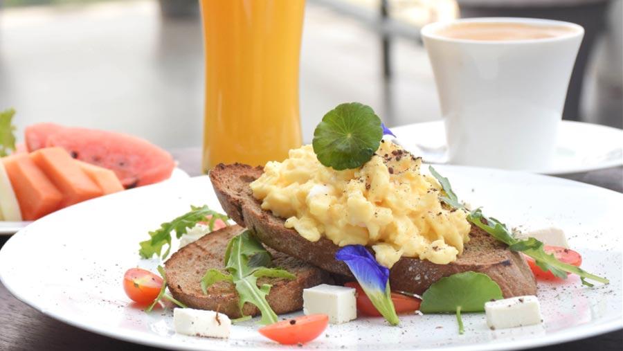 New breakfast menu at Amari Dhaka's Cascade Lounge