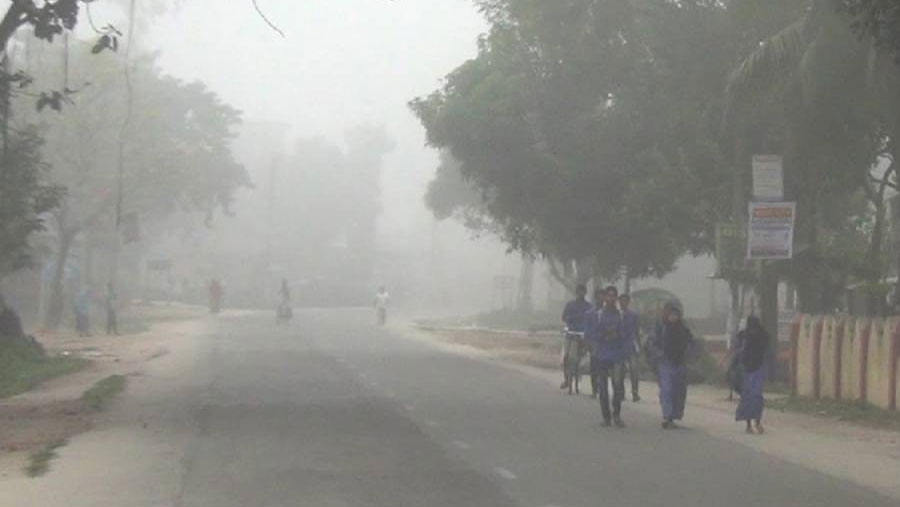 Winter chill in northern & western districts