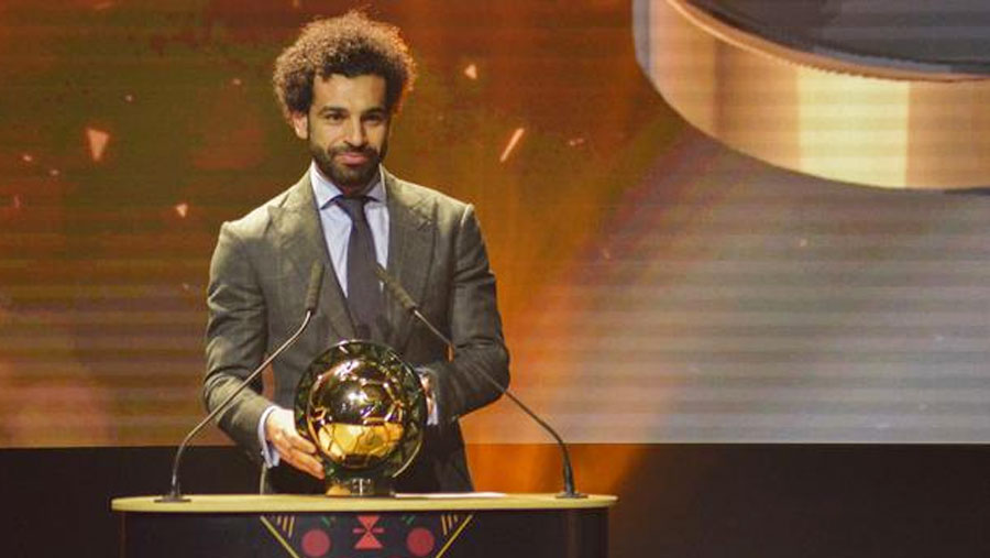 Salah wins African award for 2nd time
