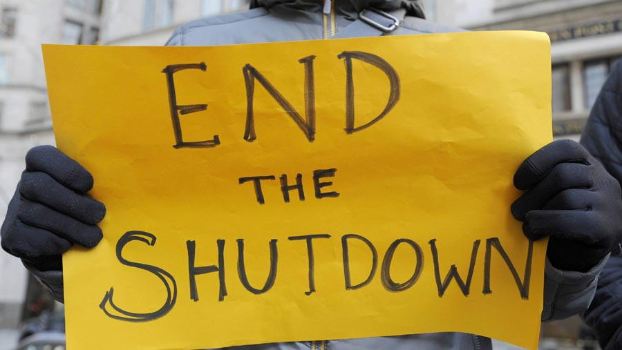 US partial shutdown becomes longest on record