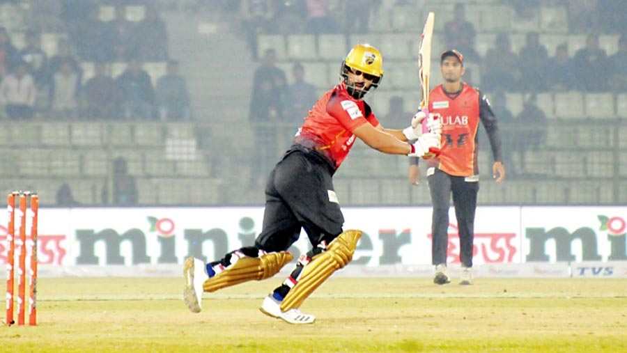 Comilla beat Khulna by three wickets