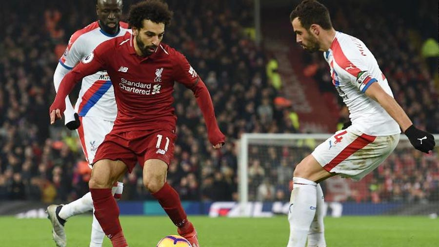 Salah scores 50th Premier League goal