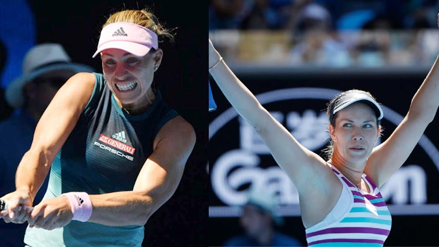 Kerber stunned by Danielle Collins