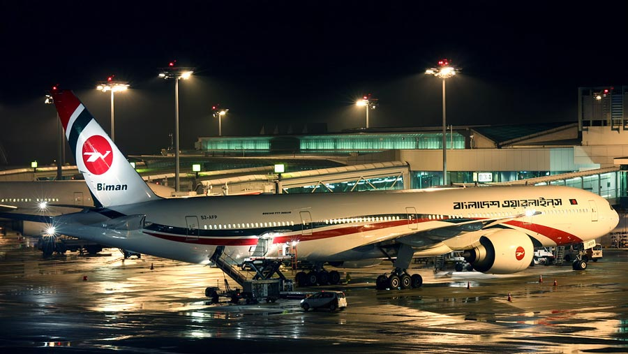 Biman achieves 5 stars in safety rating