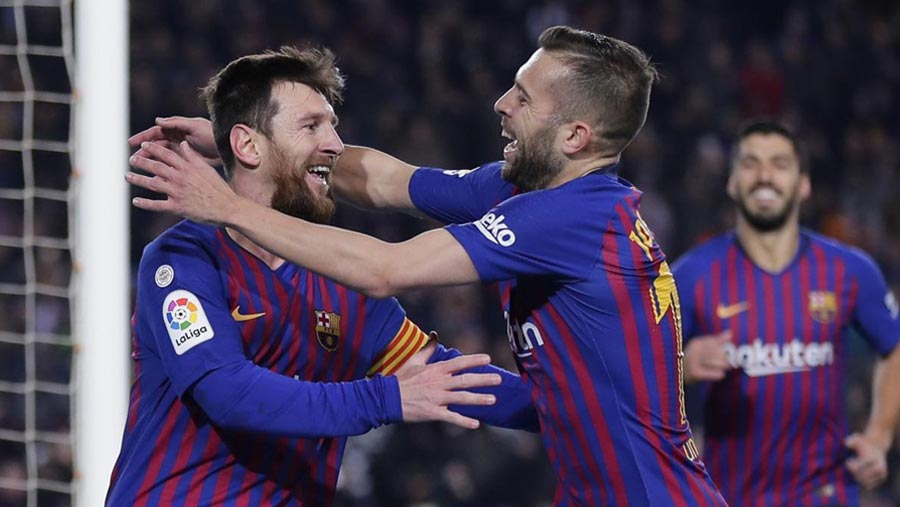 Messi comes off bench to help Barca beat Leganes
