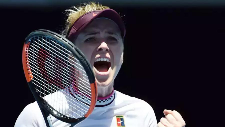 Svitolina beats Keys, reaches quarters