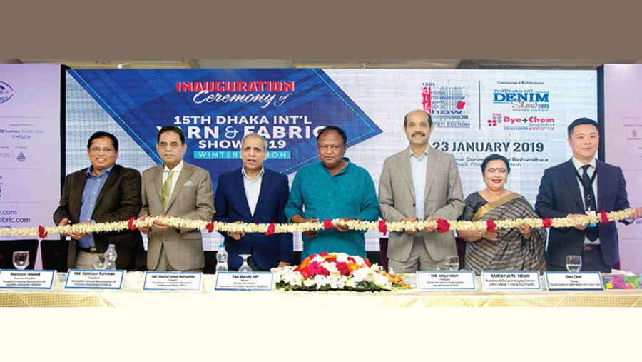 Dhaka int'l yarn, fabric show begins