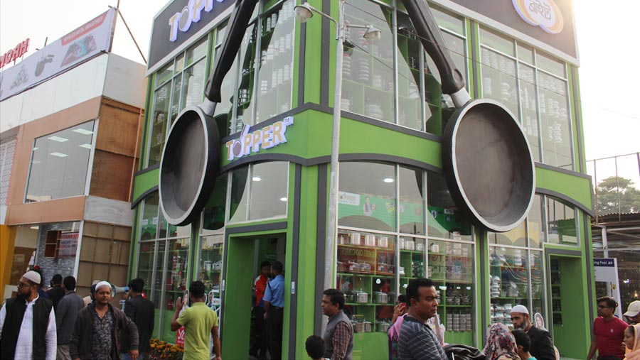 Topper showcases food grade kitchenware at DITF