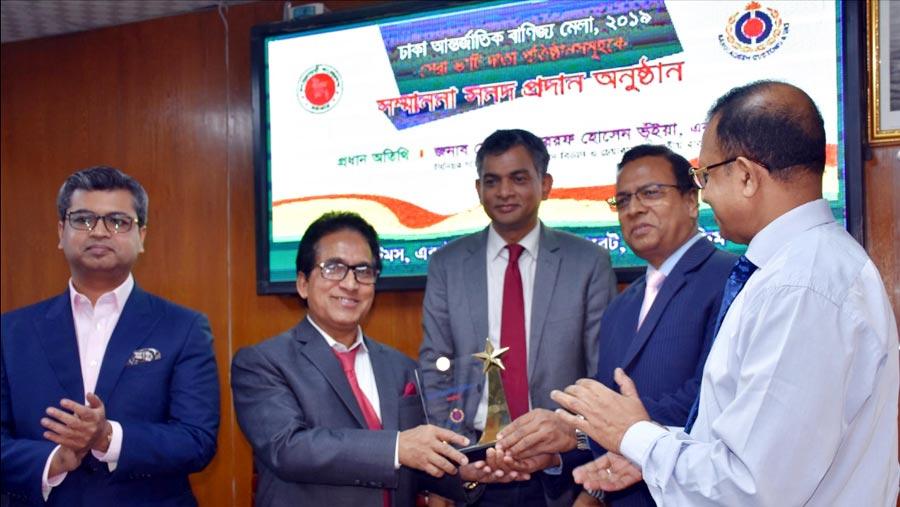 RFL's 3 companies receive top VAT payer award at DITF