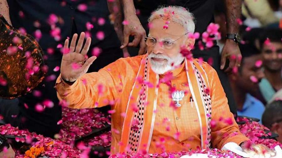 Narendra Modi takes oath May 30