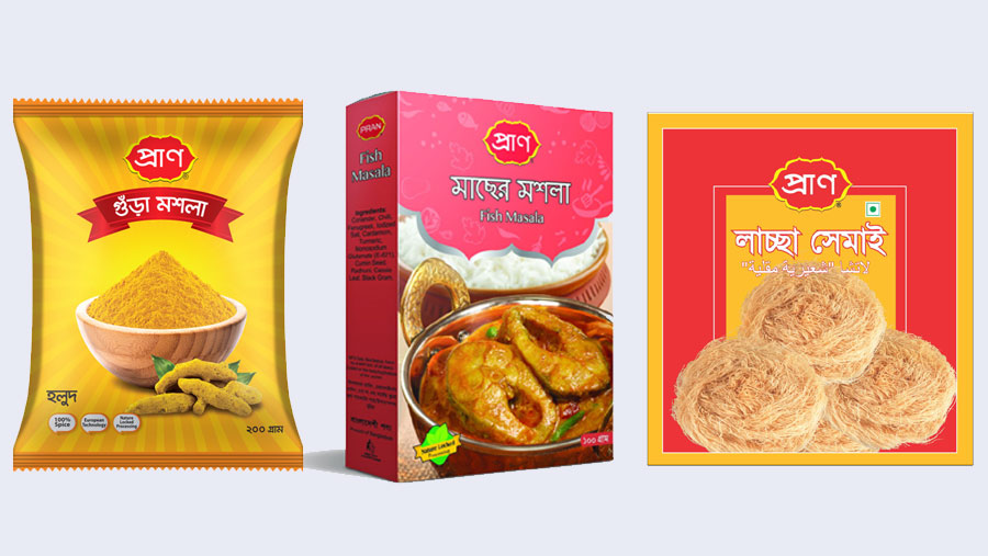 PRAN lachcha, turmeric & curry powder pass BSTI standard