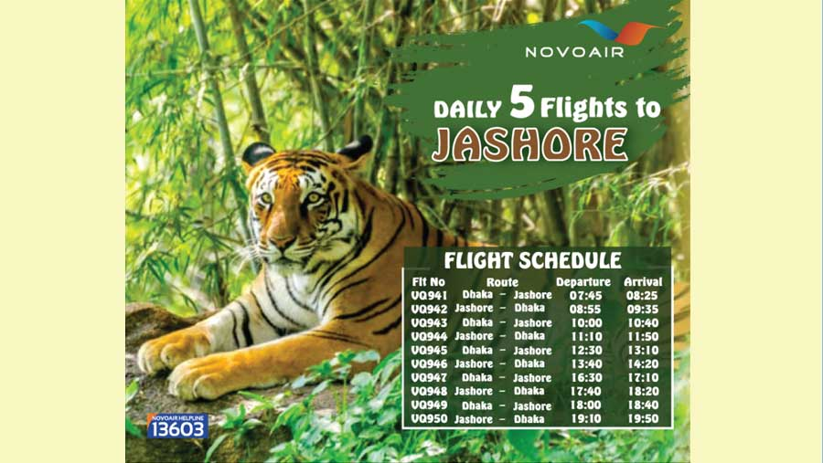 NOVOAIR increases flights in domestic routes