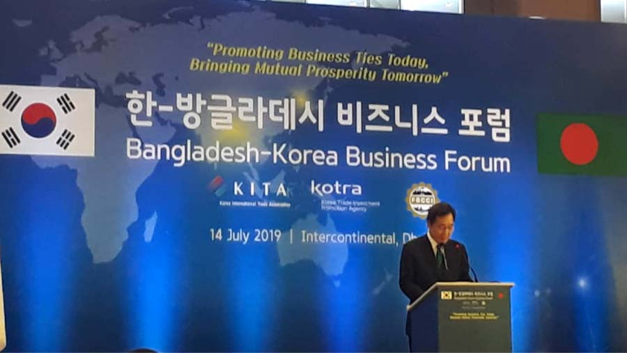 Korean PM wants stronger collaboration with BD