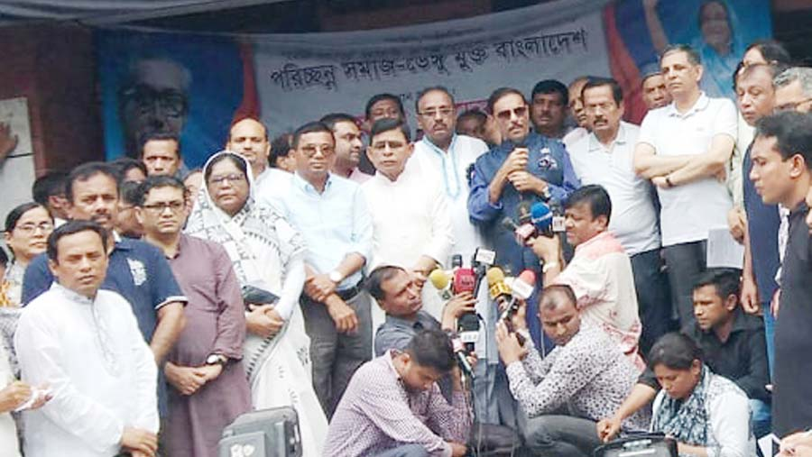 Quader for united efforts to control dengue