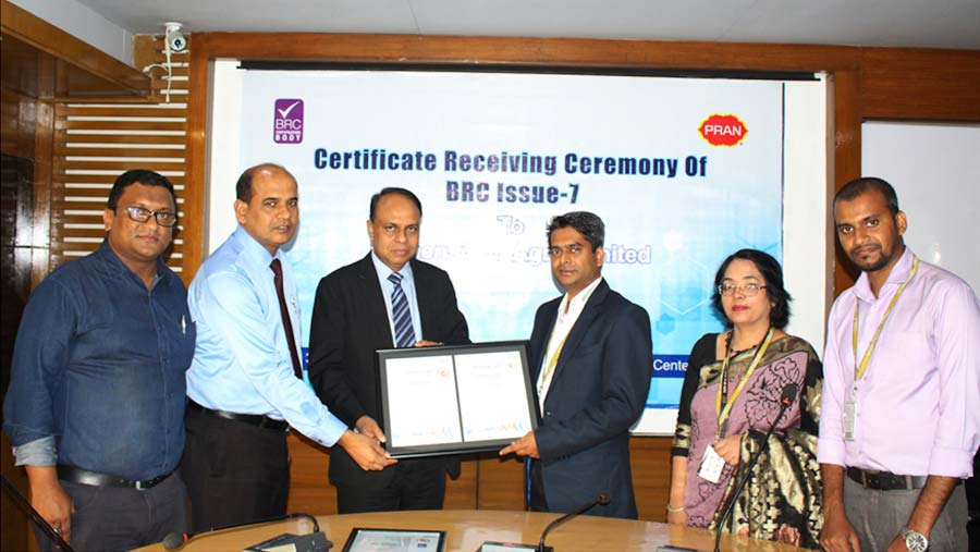Mymensingh Agro achieves BRC Certificate