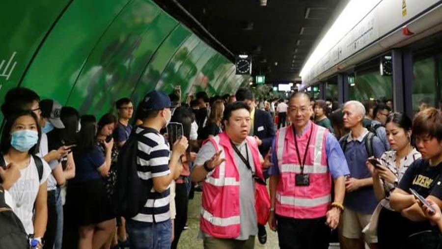 Hong Kong faces travel chaos amid city-wide strike