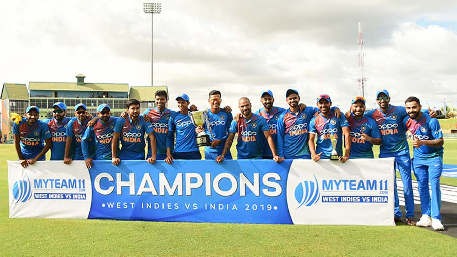 India complete whitewash over West Indies