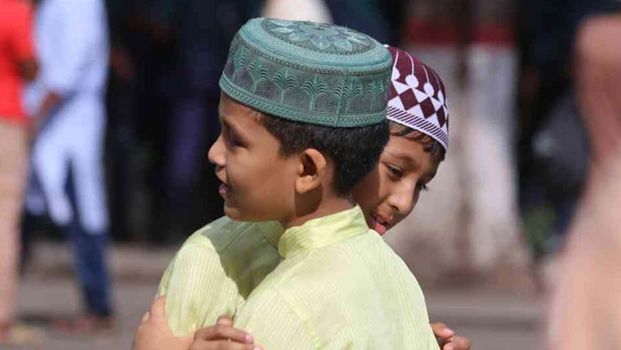 Eid-ul-Azha being celebrated with festivity