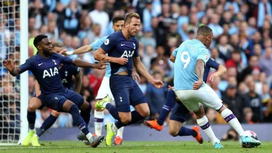 Man City 2-2 Tottenham Hotspur
