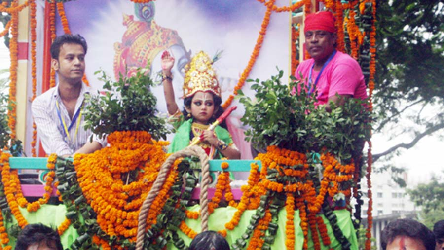 Janmashtami being observed