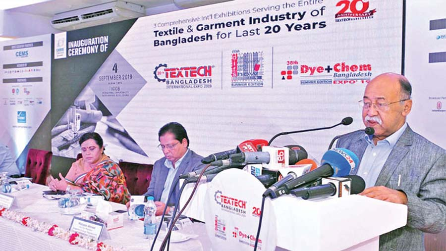 20th Textech Bangladesh Expo begins