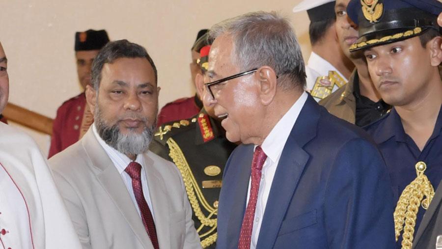 President Hamid returns home on Monday