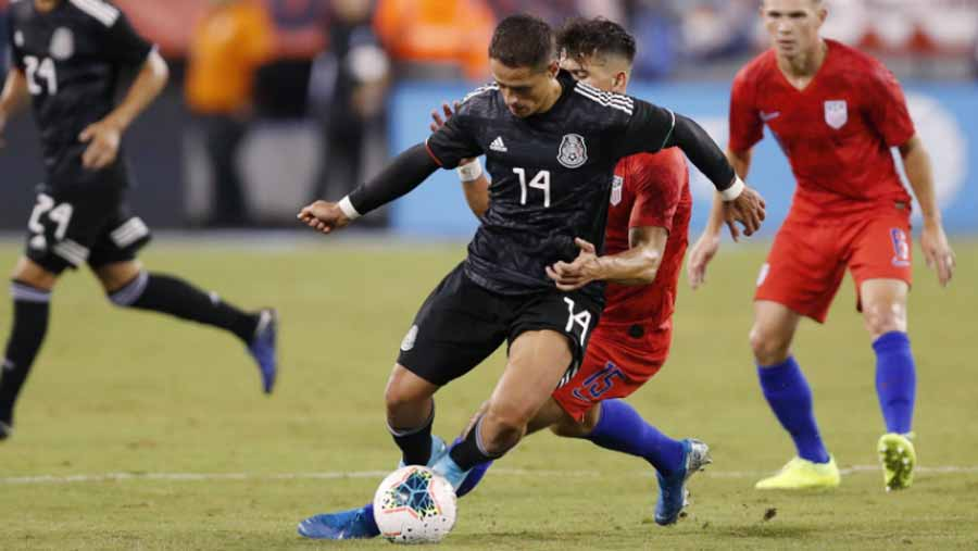 Mexico routs USA 3-0 in friendly