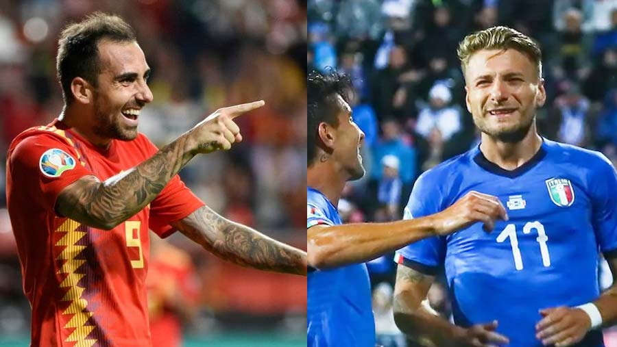 Spain and Italy close in on Euro 2020