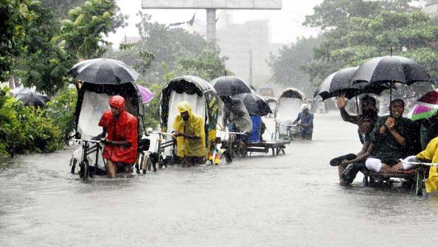 Heavy rainfall likely in three divisions