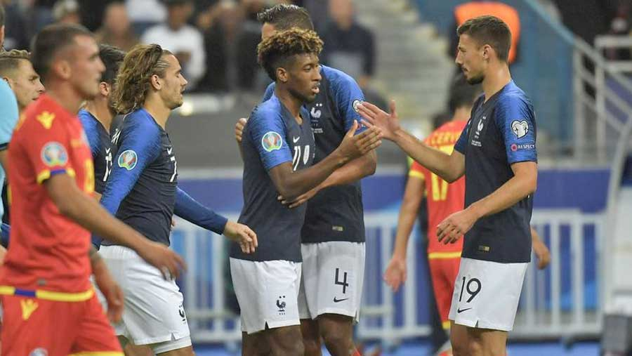 France beat Andorra 3-0 in Euro qualifier