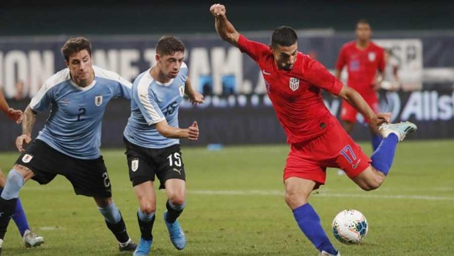 United States 1-1 Uruguay
