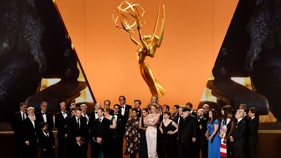'Game of Thrones' wins Emmy for best drama series