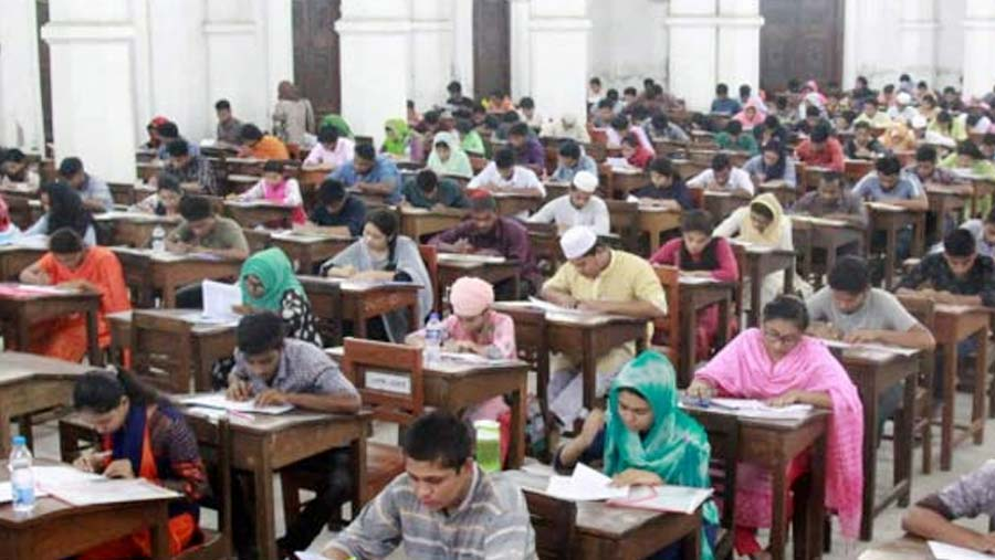 DU 'Gha' unit admission test held