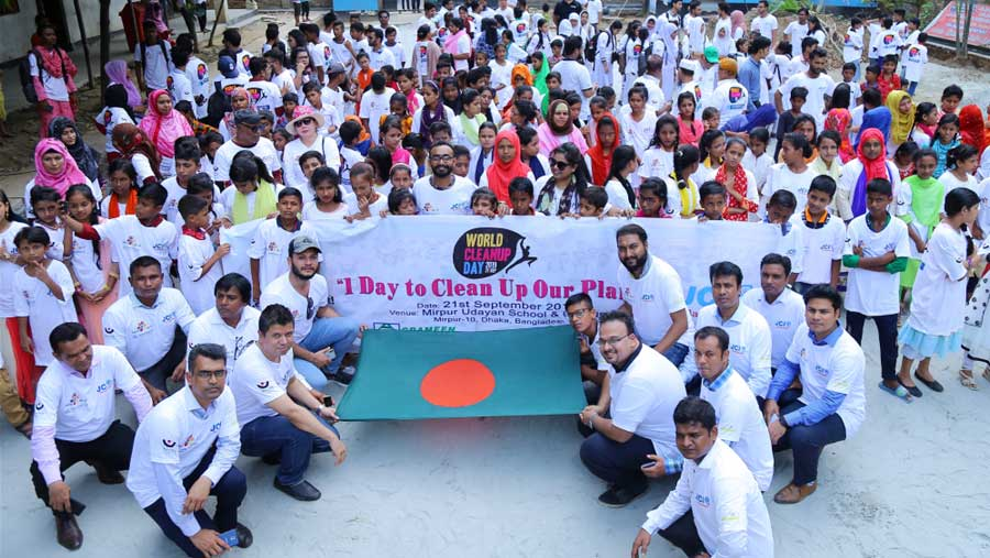 World Clean Up Day (Bangladesh)