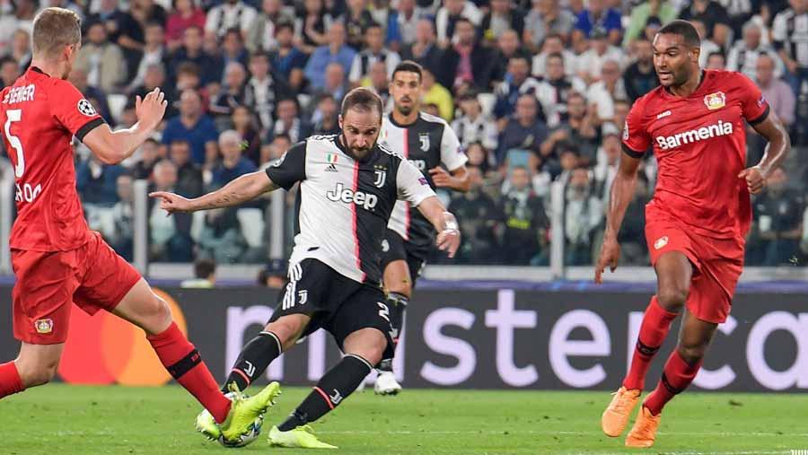 Juventus beat Leverkusen 3-0 in UCL