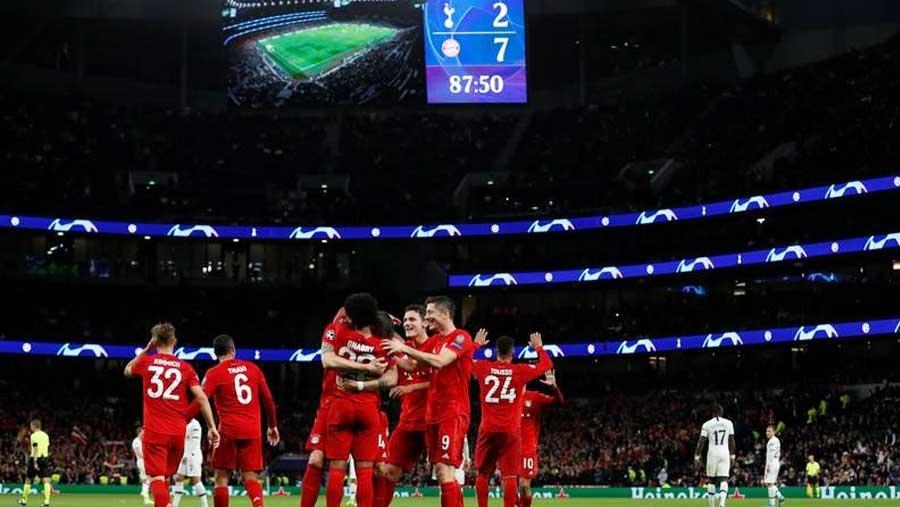 Bayern Munich 7-2 Tottenham