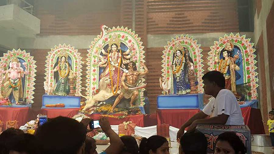 Mohashaptami being celebrated
