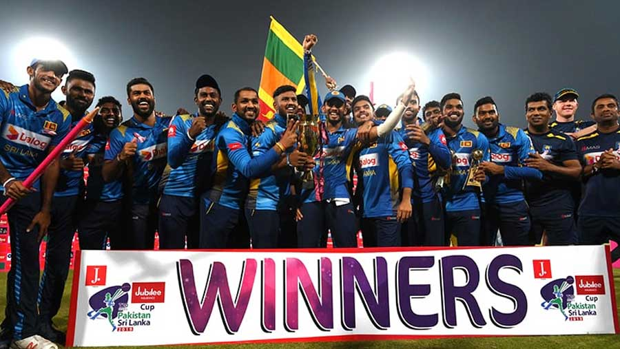 Sri Lanka whitewash Pakistan in T20 series