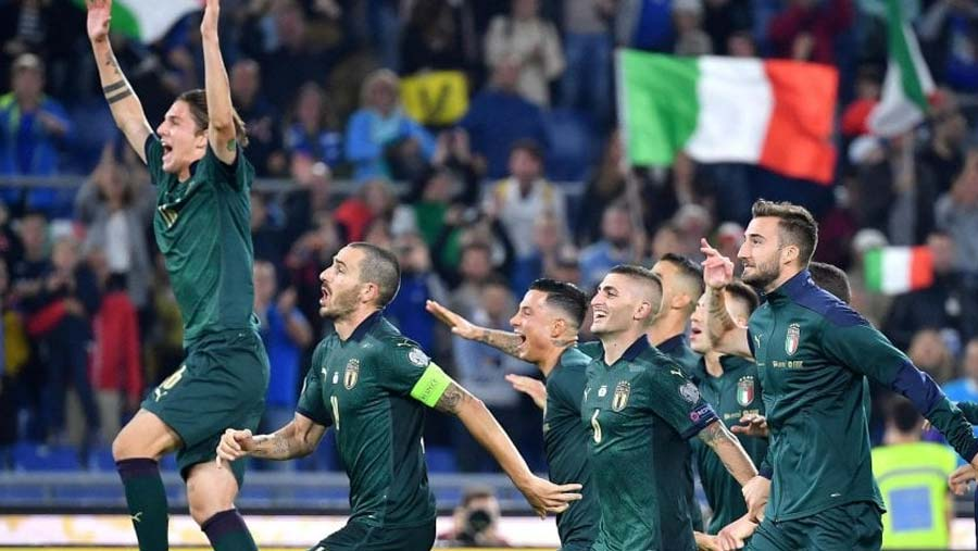 Italy secure Euro 2020 qualification