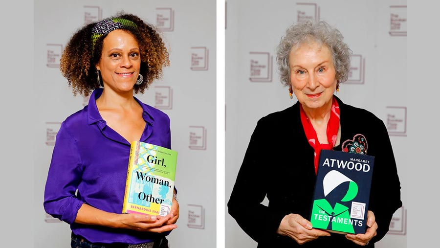 Atwood and Evaristo share Booker Prize