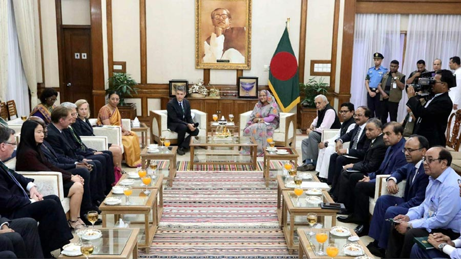 WB to continue support for Bangladesh's uplift, EDs tell PM