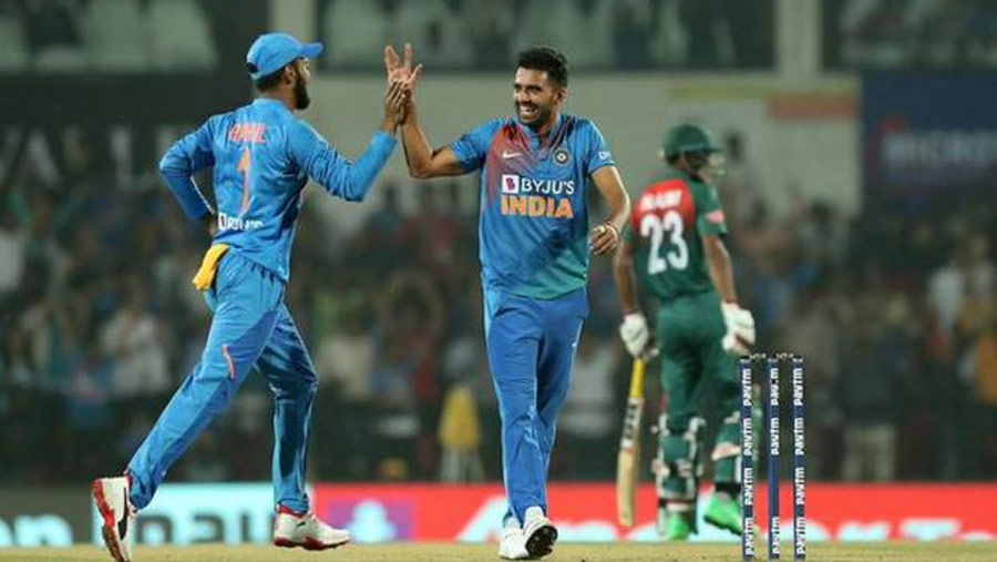 India beat Tigers to seal T20 series