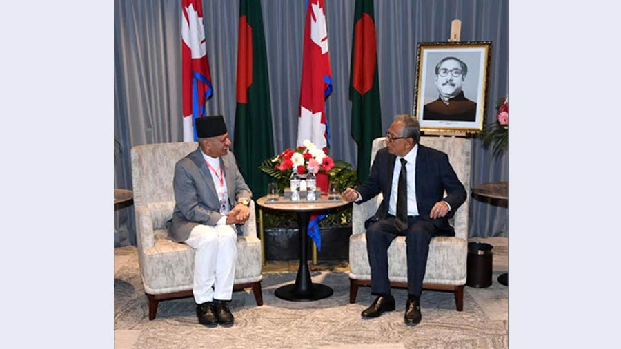 President Hamid supports Nepal's dev projects