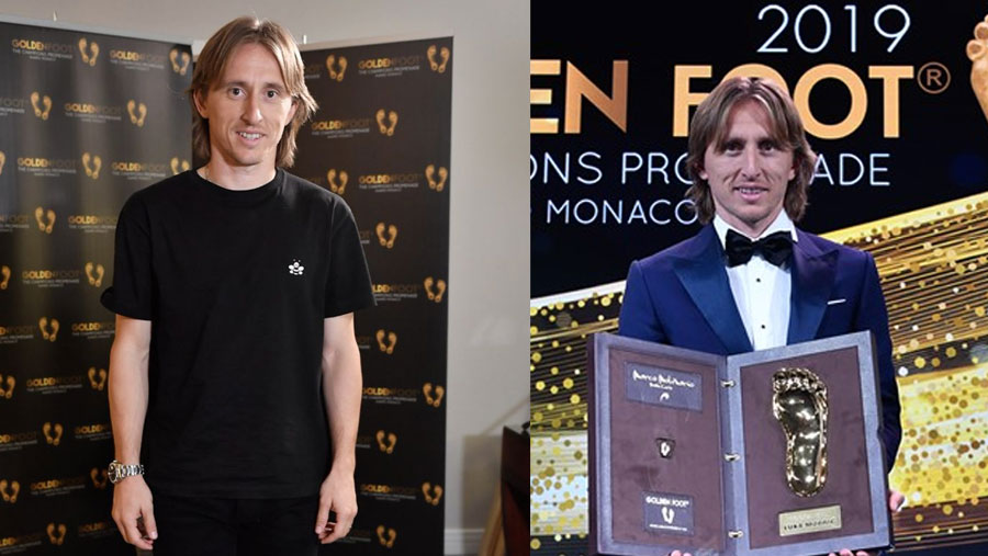 Luka Modric wins 2019 Golden Foot Award