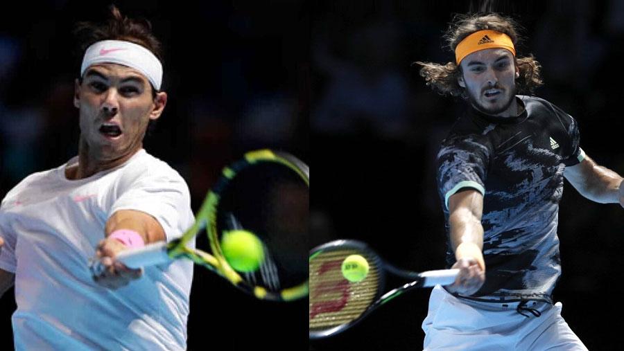 Nadal fights back as Tsitsipas advances
